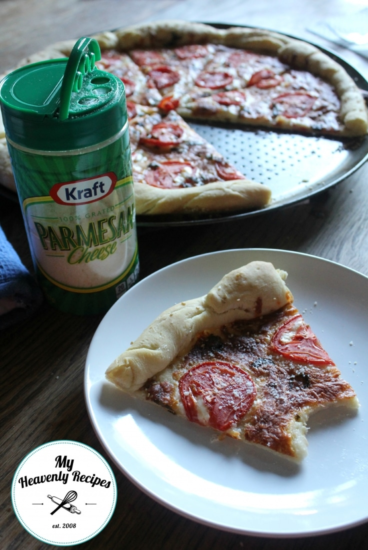 Marherita Pizza Kraft Parsesan Cheese
