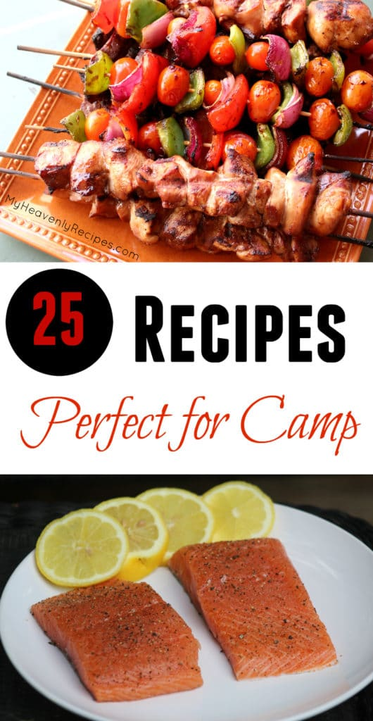 25 Recipes Perfec for Camp
