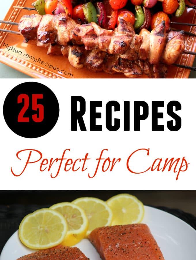 25 Recipes Perfec for Camp