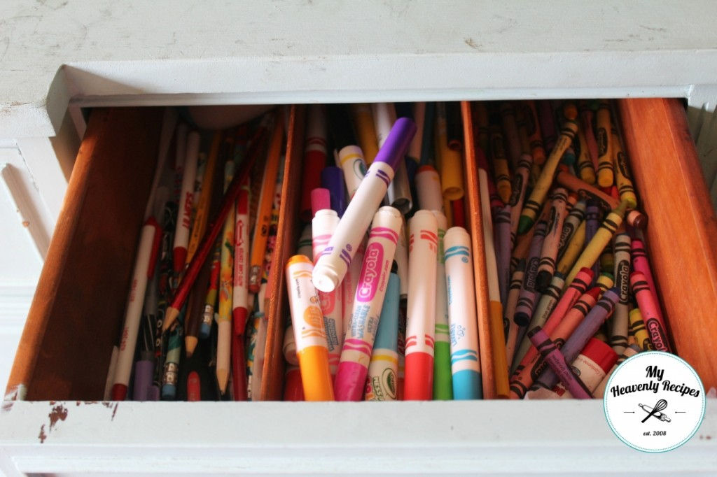 Coloring Supplies Before