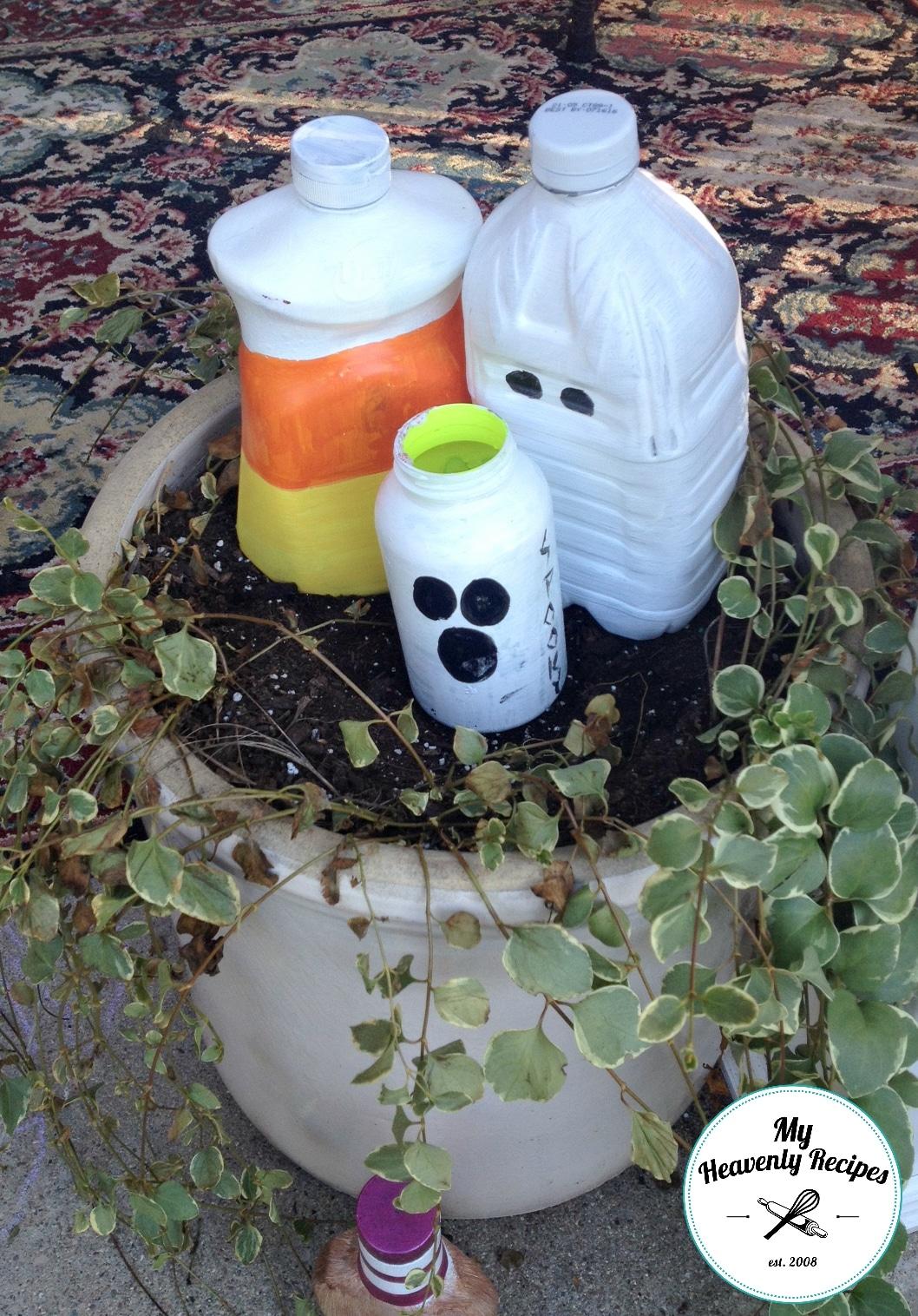 DIY Halloween Decoration Milk Jug Kids Craft