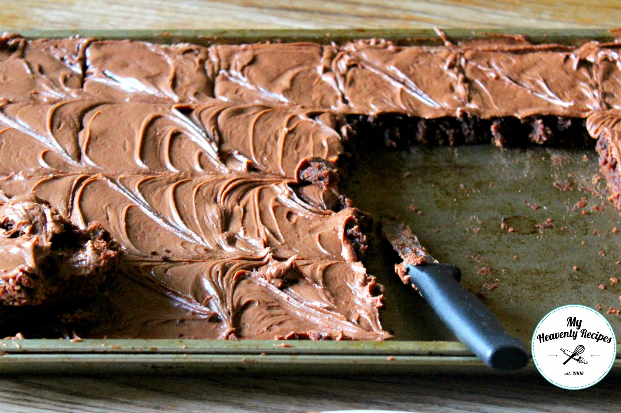 Homemade Fudge Icing For Bakery Style Brownies