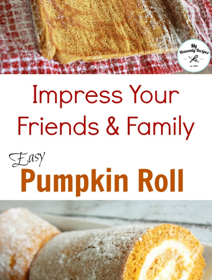 Impress your friends and family with this Easy Pumpkin Roll Recipe
