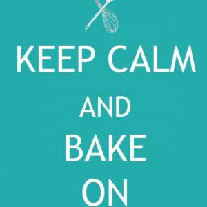Free Printable: Keep Calm and Bake On
