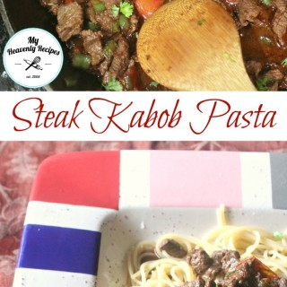 Steak Kabob Pasta