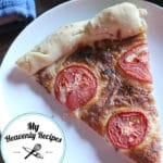 Margherita Pizza Recipe with Homemade Pizza Crust