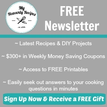 My Heavenly Recipes Newsletter