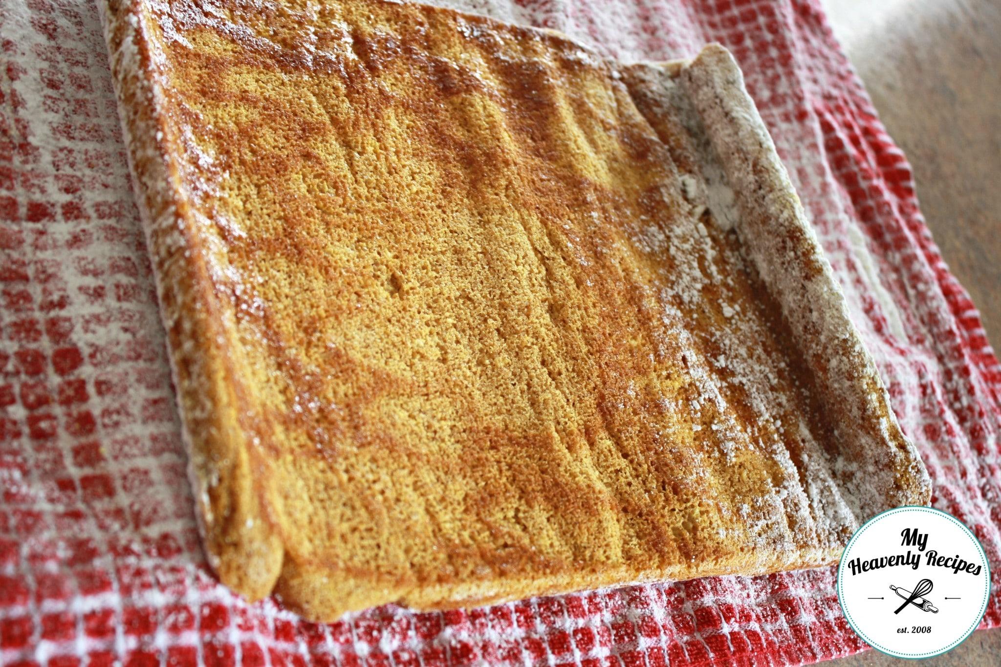 Pumpkin Roll Recipe Rolling Cake