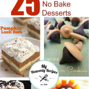 25 Easy No Bake Desserts Perfect for Holidays