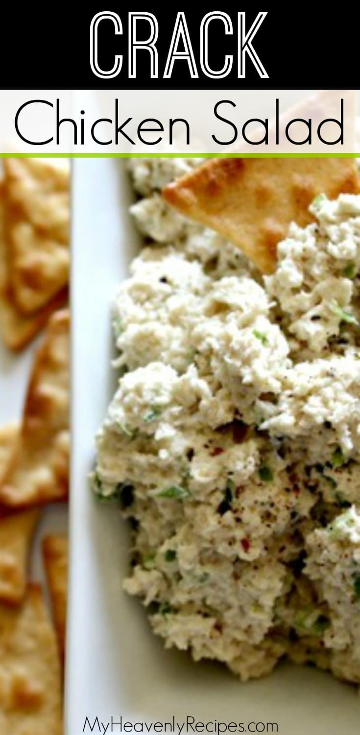You have never had chicken salad like this! This loaded chicken salad recipe is one of the best tasting things I have ever eaten. It disappears anytime I made it for a potluck or barbecue and everyone is left asking for the recipe. Not to mention, this recipe is KETO approved! #chickensalad #chickenrecipes #lunchrecipe #chicken