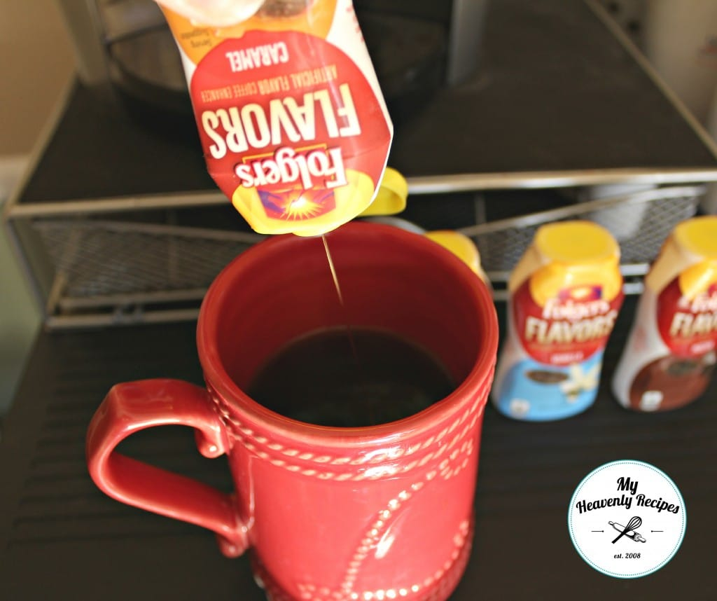 Folgers Flavors Review - Caramel into Coffee