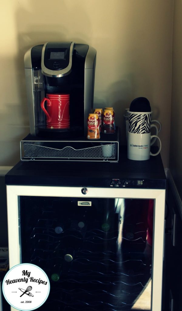 Folgers Flavors Review - My Heavenly Recipes Beverage Station
