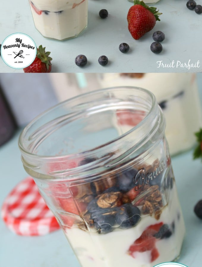 Fruit Parfait makes a perfect and quick breakfast for those chaotic mornings