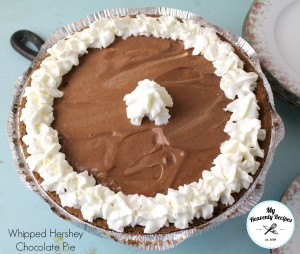Whipped Hershey Pudding Pie