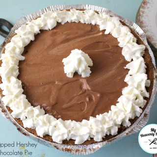 Whipped Hershey's Chocolate Pudding Pie