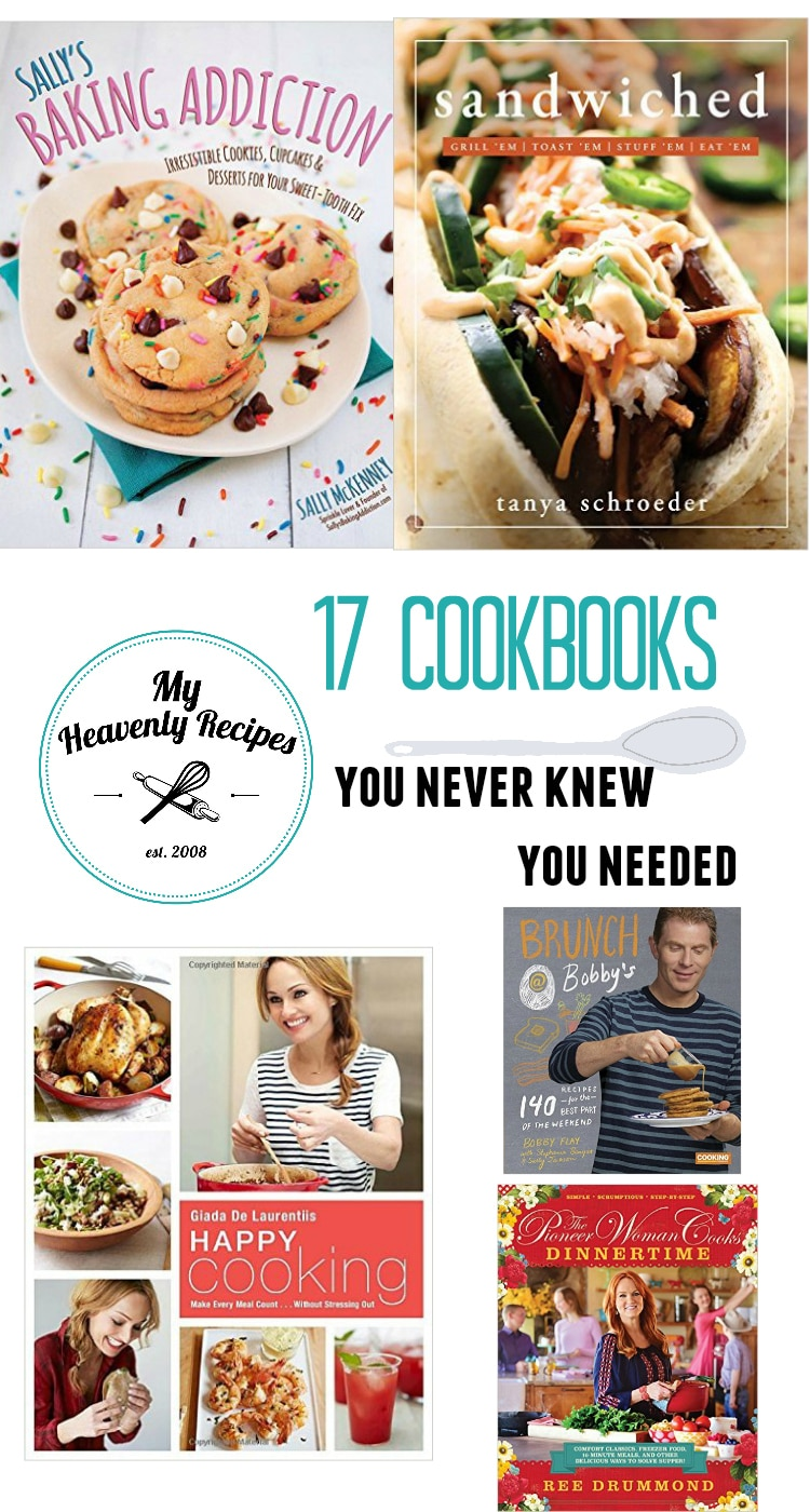17 Cookbooks You Never Knew You Needed