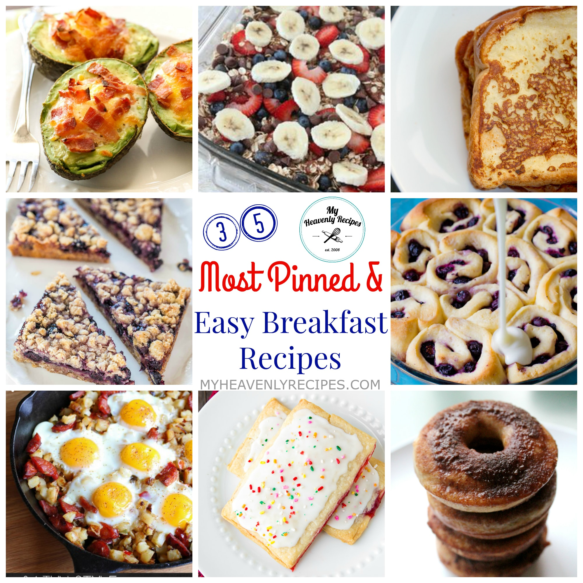 35 Easy Breakfast Recipes & Most Pinned