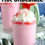 featured images for strawberry hot chocolate