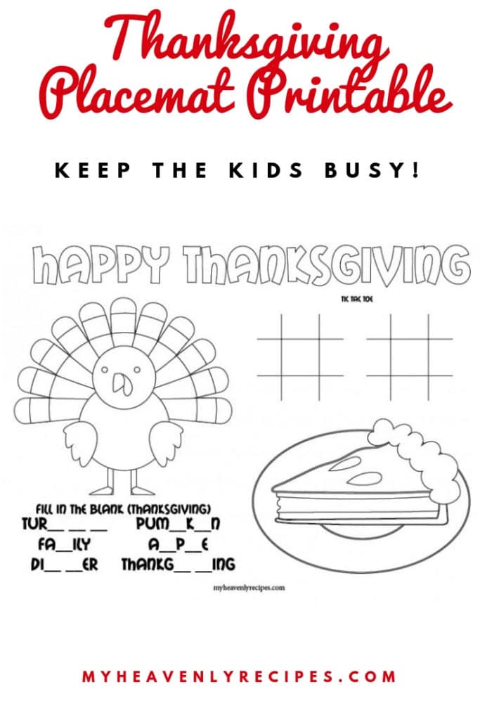 thanksgiving mat printable featured image