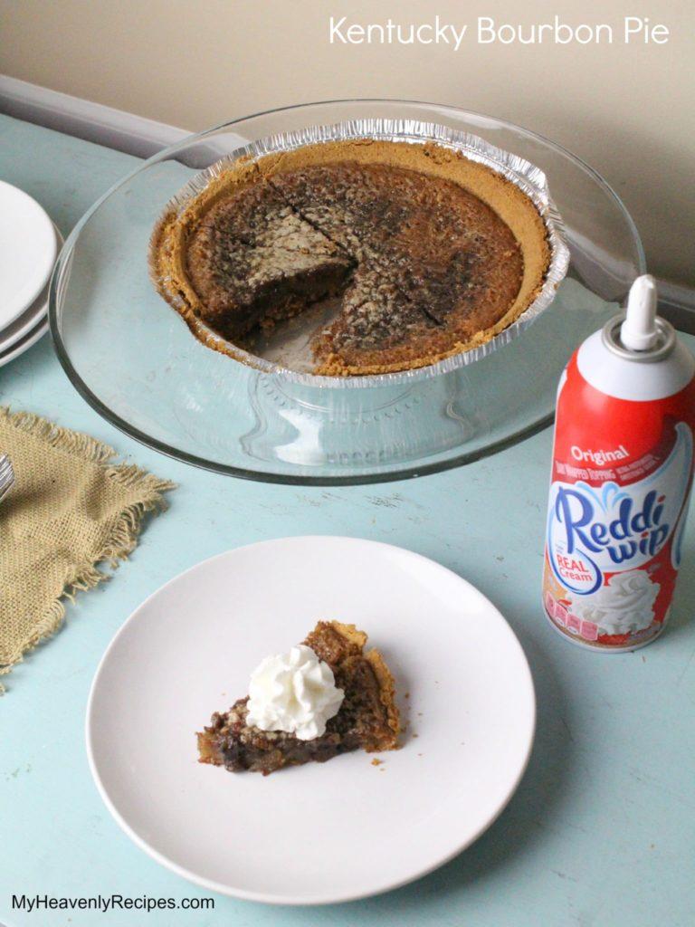 homemade Kentucky bourbon pie (aka Derby Pie®)