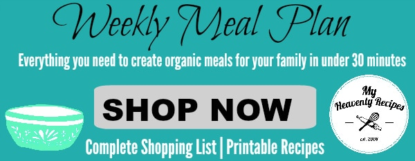 Weekly Meal Plan Generic Promotion