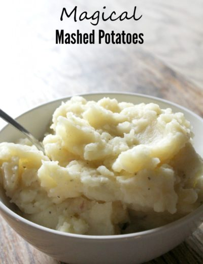 a bowl of perfect mashed potatoes made from scratch