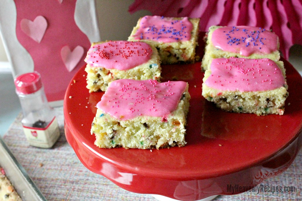 Unicorn Cookie Bars My Heavenly Recipes