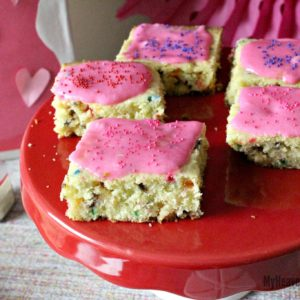 Unicorn Dessert Cookie Bars