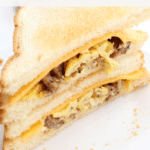 Toasted Breakfast Sausage Sandwich Recipe