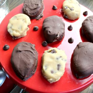 Chocolate Cookie Dough Easter Eggs are a ton of fun for the entire family and super easy to make!