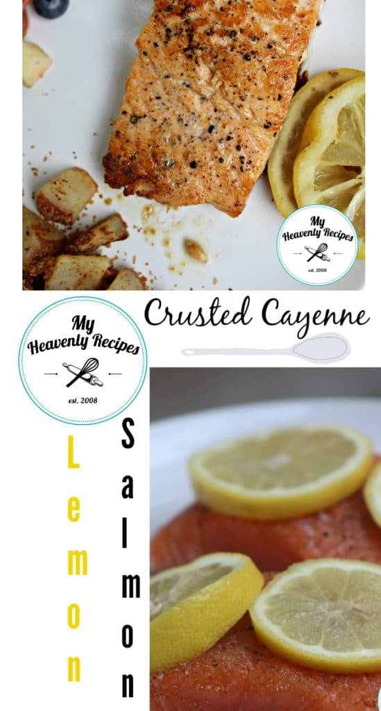 Pan Seared Crusted Salmon with Lemon and Cayenne