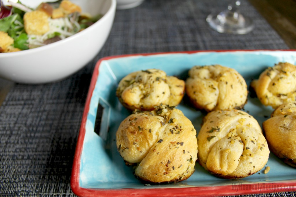 Garlic Knots My Heavenly Recipes Appetizer