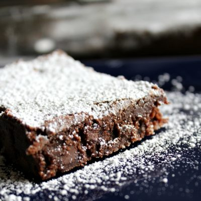 classic homemade brownie recipe image