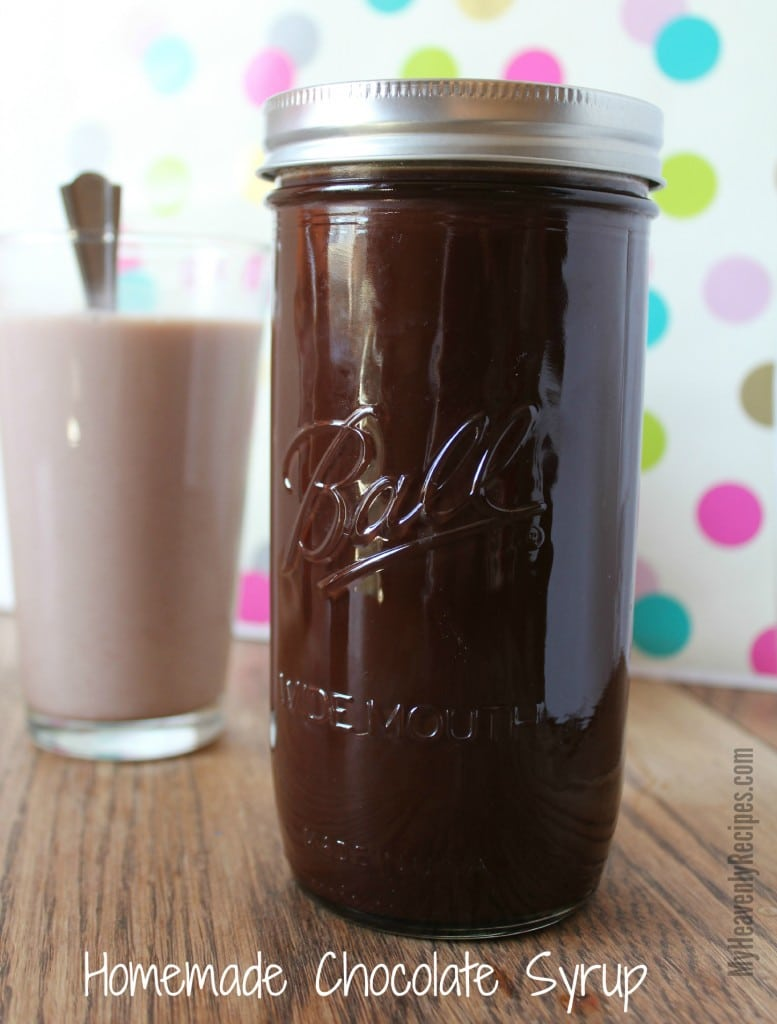 This Homemade Chocolate Syrup Recipe is super simple to make and will be a staple in your fridge for years to come. A great homemade Hershey's syrup!