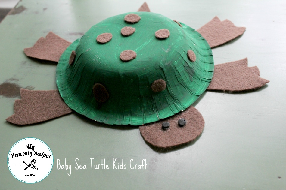 Baby Sea Turtle Kids Craft