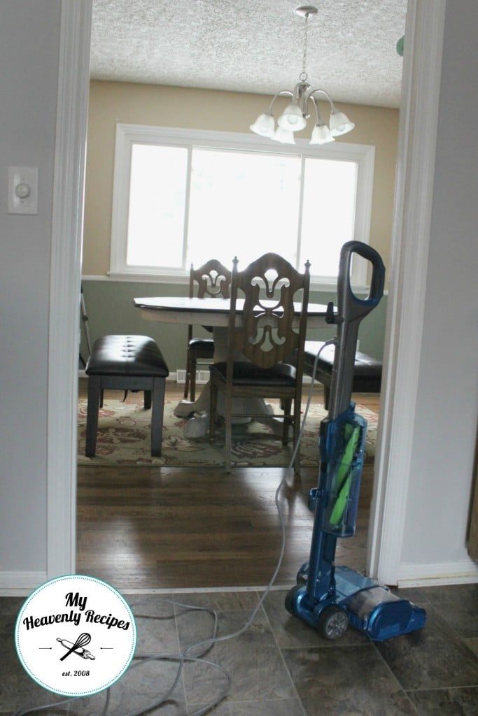 Dining Room Table Makeover Cleaning Up