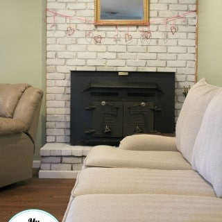 Fireplace Makeover Using Chalk Paint