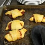 Pepperoni Stuffed Crescent Rolls