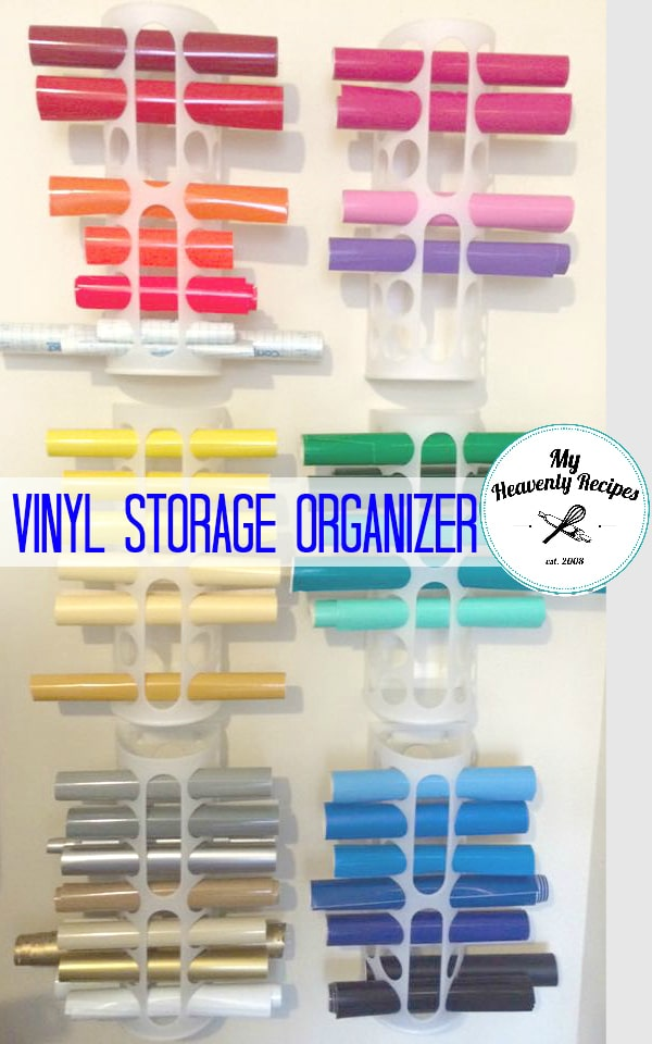 Vinyl Storage Organizer
