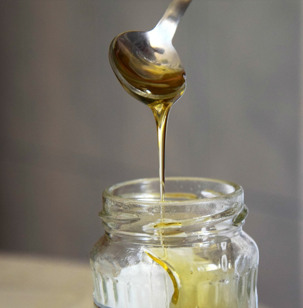 an all-natural cough remedy - a spoonful of honey