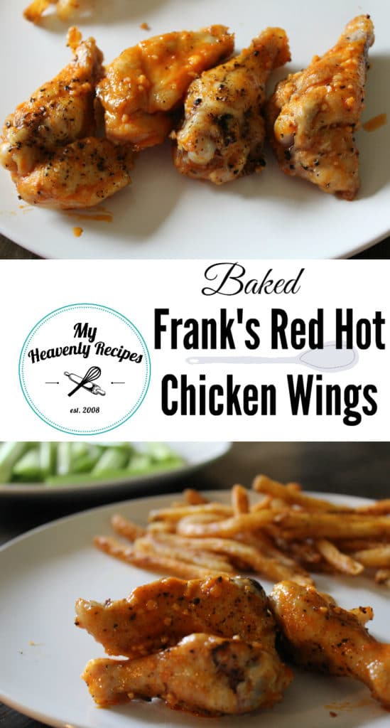 Frank's Red Hot Baked Chicken Wings