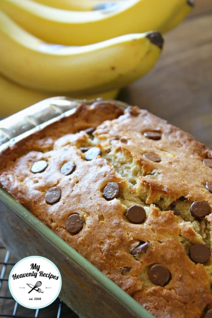 Healthier Chocolate Chip Banana Bread