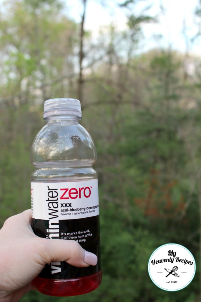 Keep Hydrated Vitaminwater zero hiking