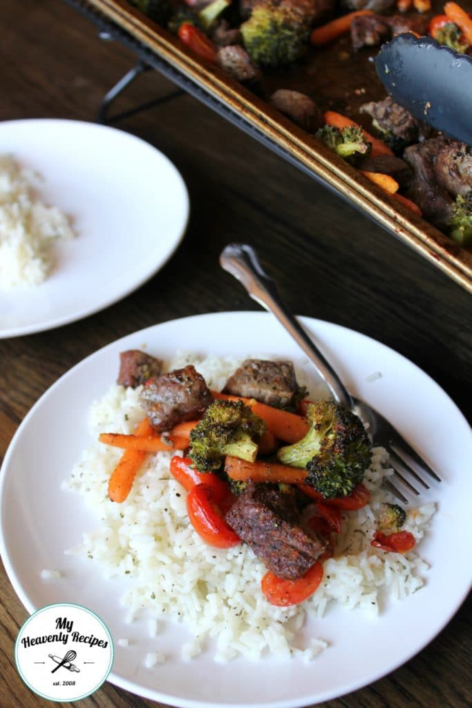 One Pan Steak Stir Fry with Rice