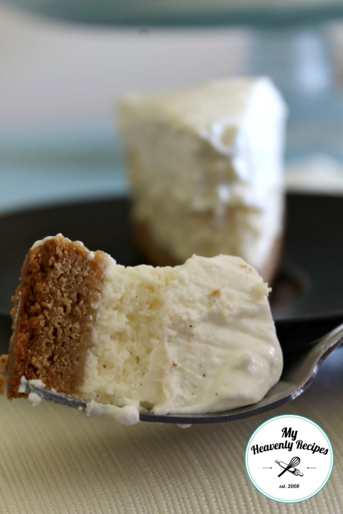 Vanilla Bean Cheesecake Bite