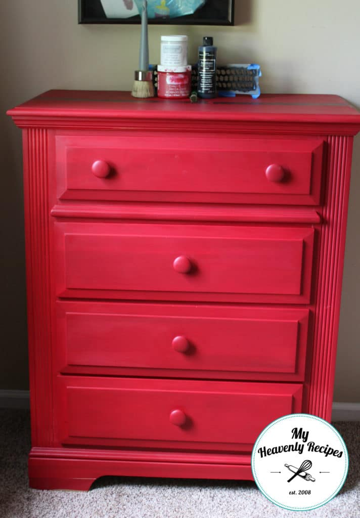 Boys Bedroom Dresser Makeover