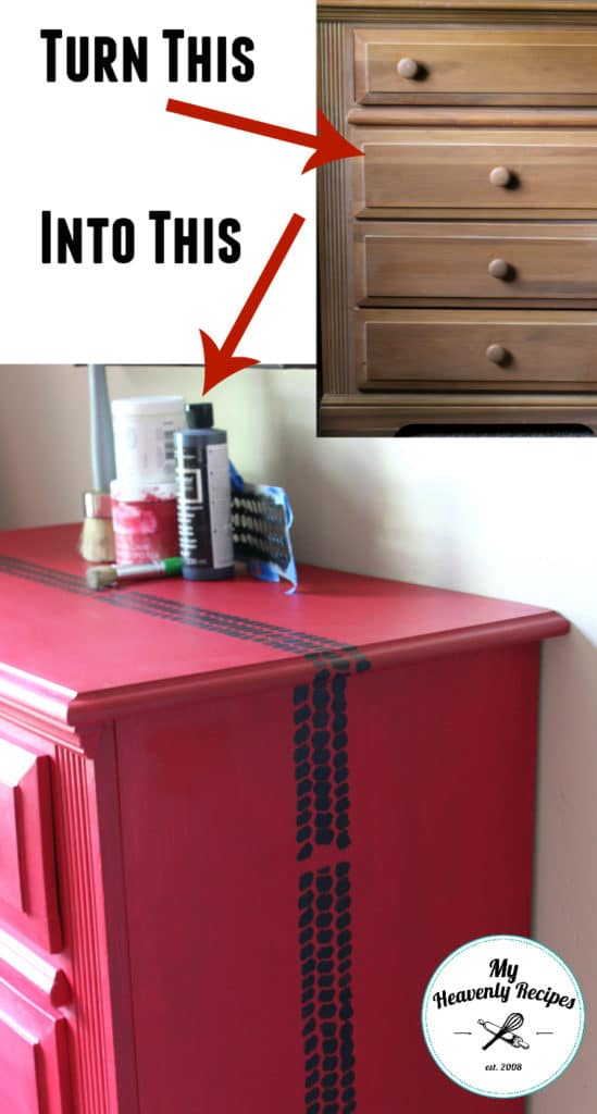 Boys Race Car Bedroom Dresser makeover
