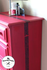 Boys Race Car Dresser Makeover After