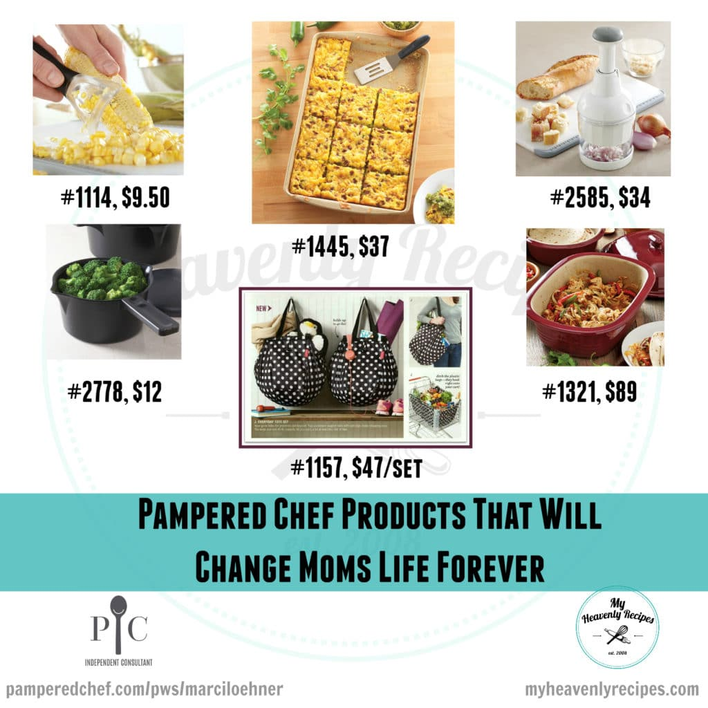 Pampered Chef PRdoucts that Will Change Moms Life Forever