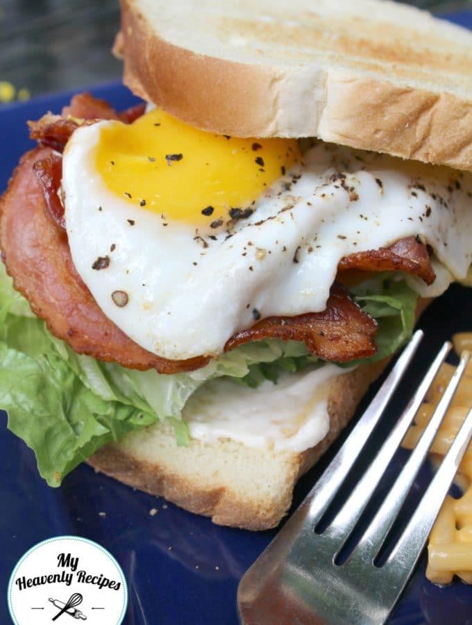 Bacon Egg Lettuce Tomato Sandwich